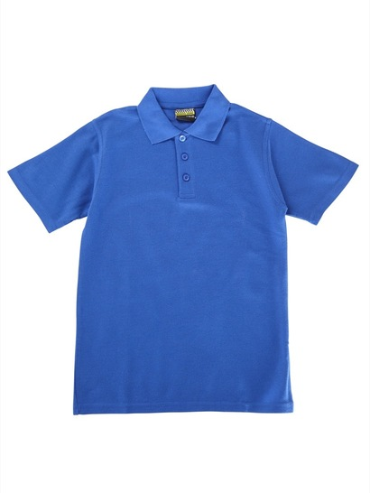 Kids Basic Short Sleeve Polo