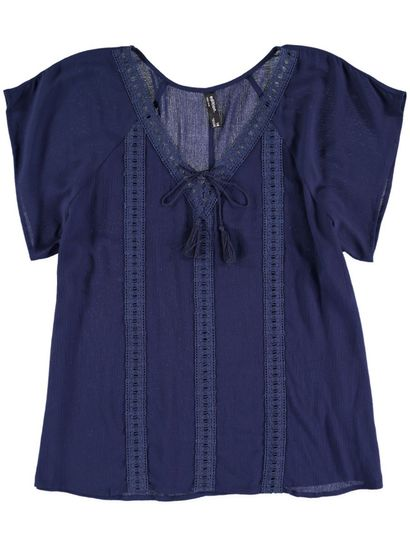 Plus Lace V-Neck Gypsy Womens