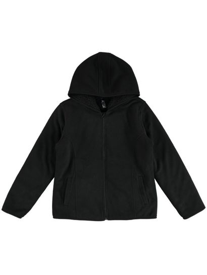 Plus Sherpa Polar Fleece Jacket Womens