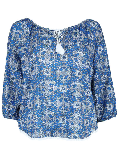 Plus 3/4 Sleeve Gypsy Womens
