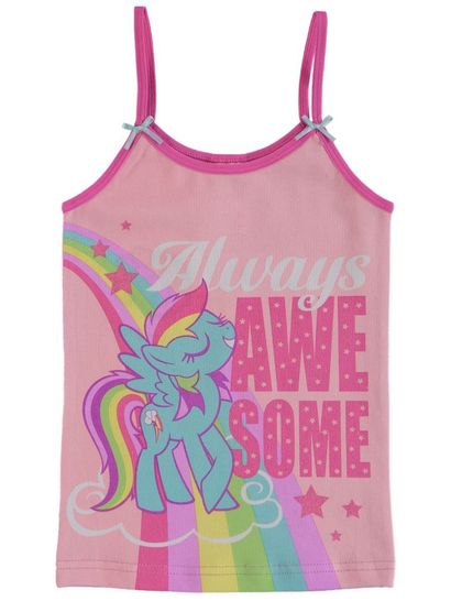 Girls Licence Singlet - My Little Pony