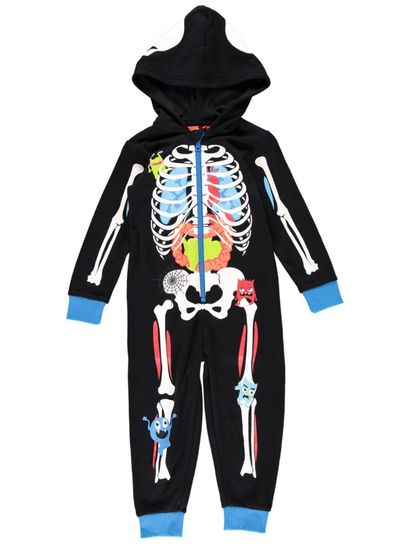 Boys Skeleton Onesie