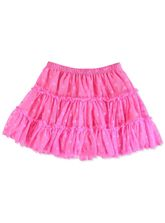 TODDLER GIRLS PINK TULLE SKIRT