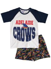 YOUTH AFL KNIT SATIN PJ