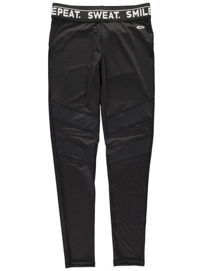 Womens Pu Panel Active Legging