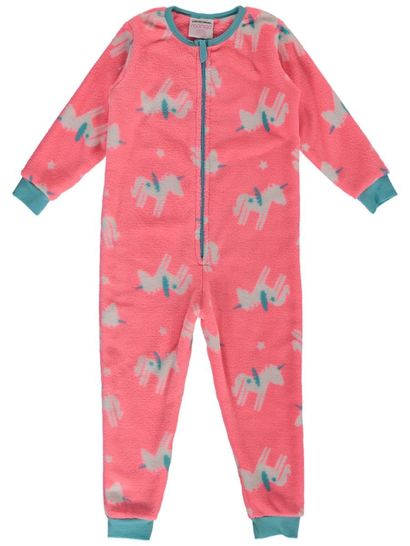 Toddler Girls Coral Fleece Onesie