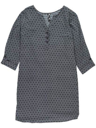 Womens Placket Dress