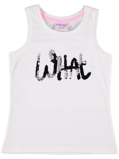 Girls Sequin Tank