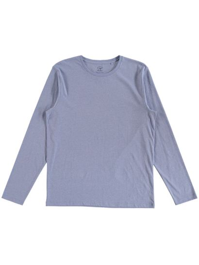 MENS ORGANIC COTTON BLEND LONG SLEEVE TEE