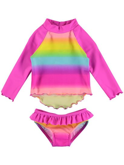 Toddler Girls Rashvest Set