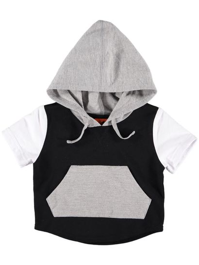 Boys Ss Hooded Top
