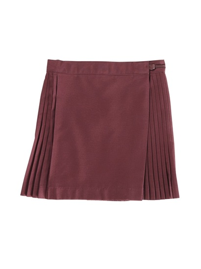 MAROON GIRLS NETBALL SKIRT