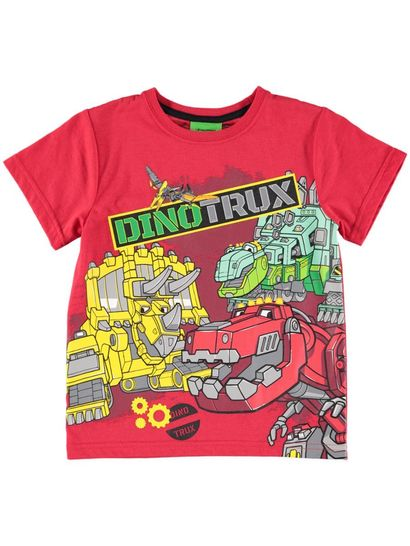 Boys Licence T-Shirt - Dinotrux