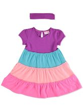 TODDLER GIRLS TIERED DRESS