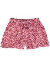 WOMENS PRINT WRAP SHORT