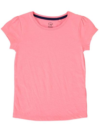 TODDLER GIRL ORGANIC SHORT SLEEVE TEE