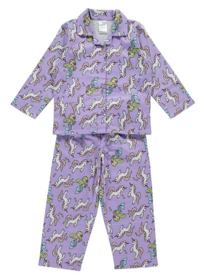 Girls Packaged Flannelette Pyjama