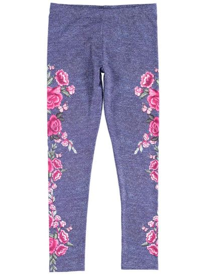 Girls Print Leggings