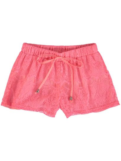 Girls Lace Short
