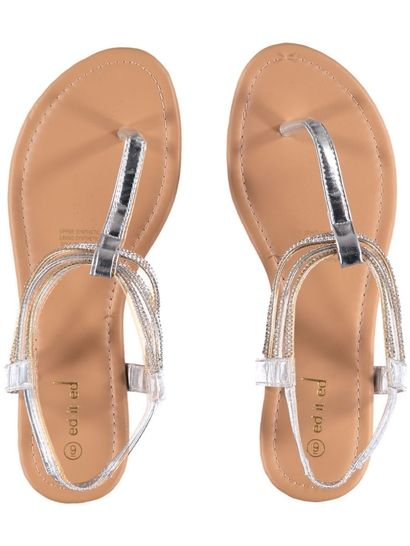 Womens Jewel Cuff Sandal