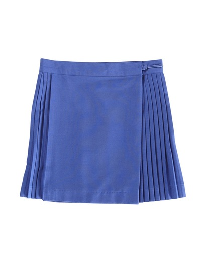 ROYAL BLUE GIRLS NETBALL SKIRT