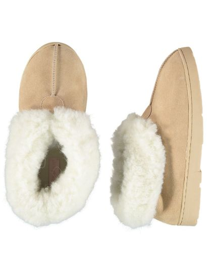 Womens Leather Slipper