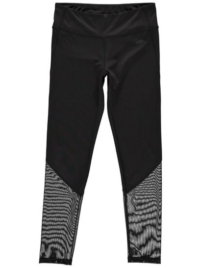 Womens Mesh Panel Active Legging