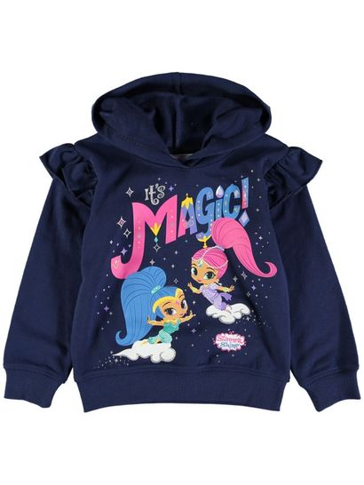 Toddler Girls Shimmer And Shine Hoodie