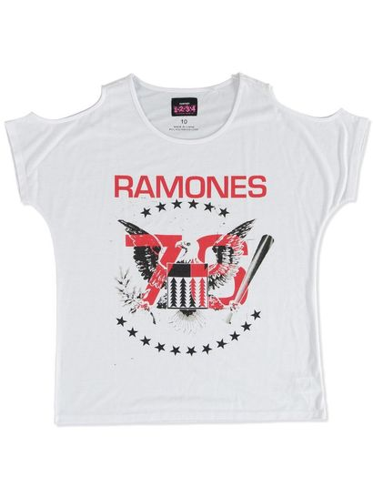 LADIES RAMONES TEE SHIRT