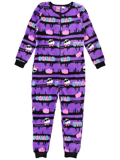 Girls Monster High Onesie