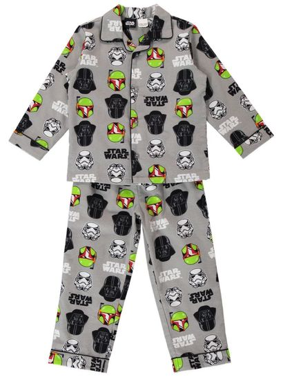 Boys Star Wars Flannelette Pyjamas