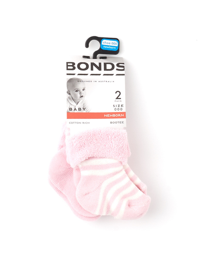 BABY BONDS WONDERSOCK 2PK