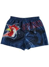 MENS NRL SATIN BOXER SHORTS