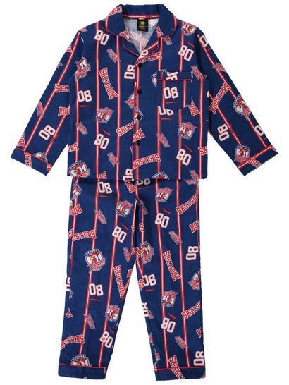 Youth Nrl Full Flannel Pj