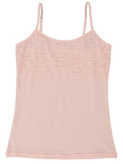 LACE FRONT CAMI WOMENS