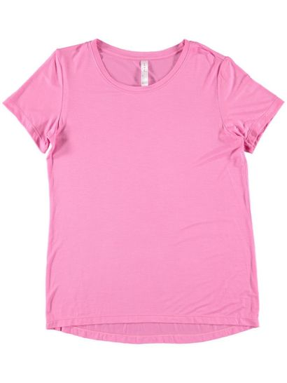 Short Sleeve Tee Womens Plus Sleepwear