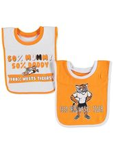 BABY NRL 2 PACK BIB SET