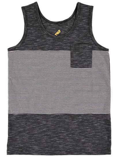 Boys Plain Tank Top