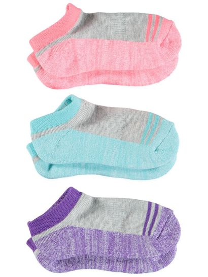 Girls 3Pk Underworks Sport Socks