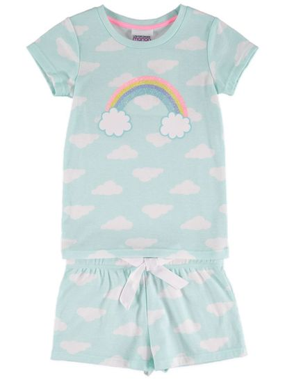 Girls Rainbow Pyjama