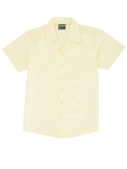Boys Short Sleeve Lay Back Shirt