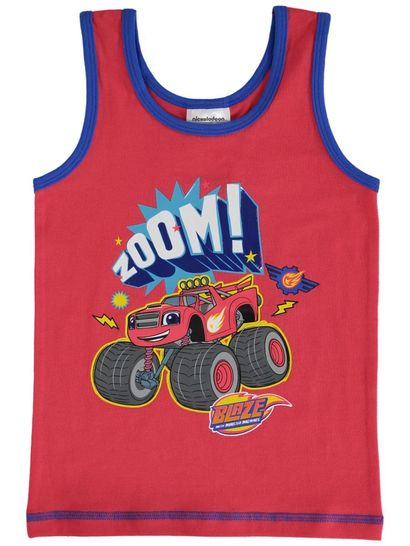 Boys Licence Singlet -Blaze & The Monster Machines