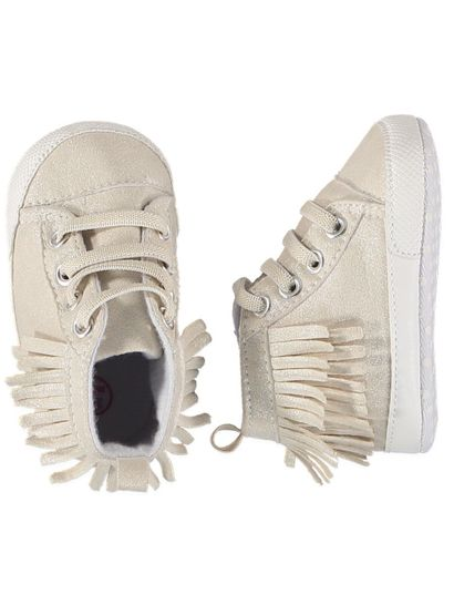 Baby Girl Fringed Trainer