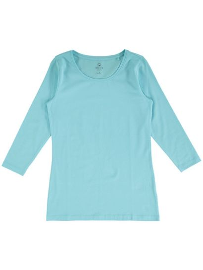 Organic Cotton 3/4 Sleeve Tee Womens