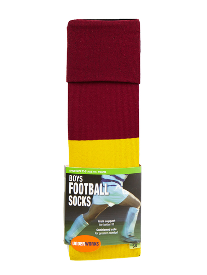 BOYS FOOTBALL SOCKS UNDERWORKS