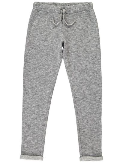 Girls Textured Knit Pants