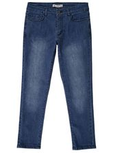 WOMENS CROPPED RIPPED JEAN