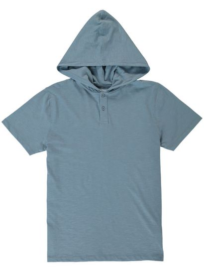 Mens Short Sleeve Hood Tee