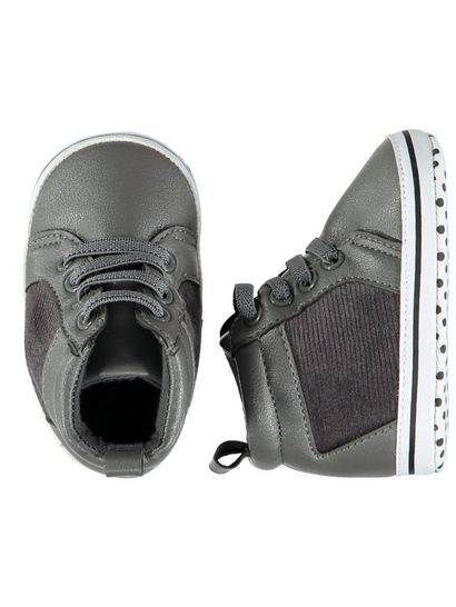 Baby Boy Soft Sole Cord High Top