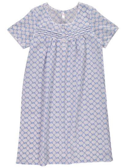 Traditional Voile Nightie Womens Sleepwear